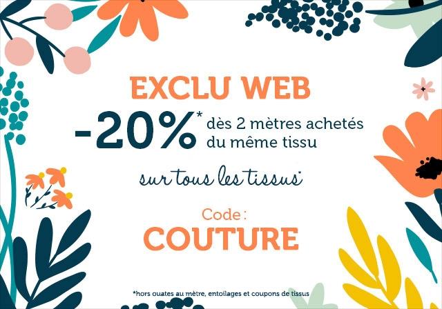 Exclu web : -20% dès 2 m achetés
