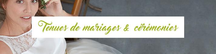 Tenues de mariages et cérémonies