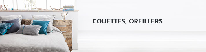 Couettes, oreillers et protections