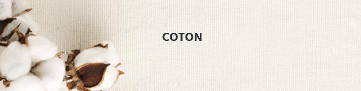 Coton : popeline, voile et flanelle
