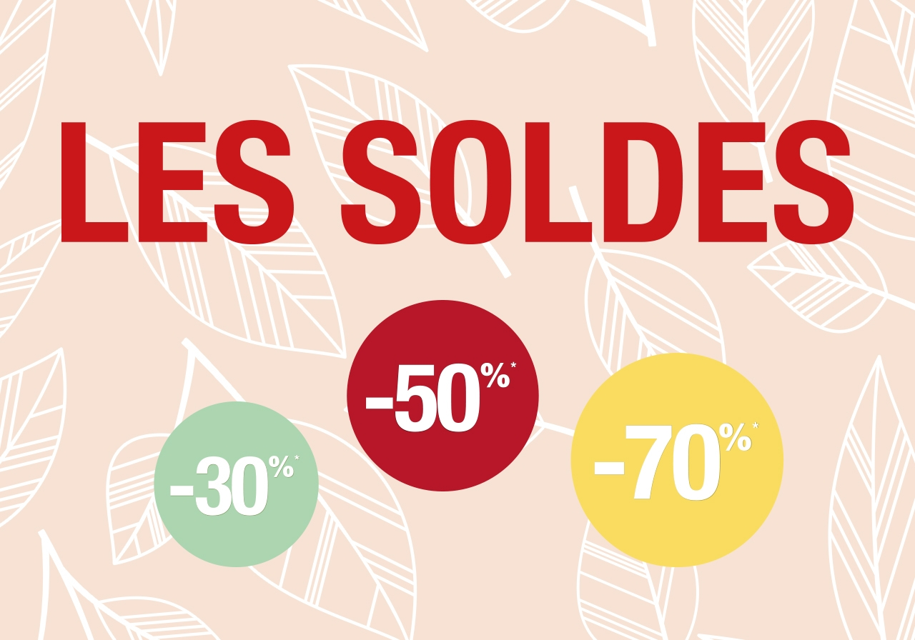 Soldes -30%