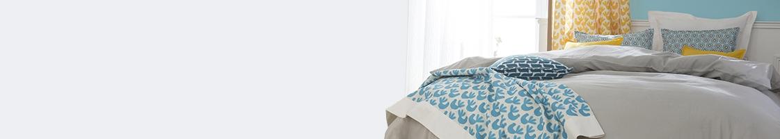 Boutis, plaids et couvre-lit