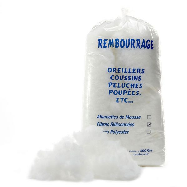 sachet de rembourrage synthétique