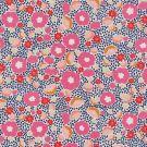 Tissu ottoman fleuri multicolore