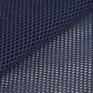Tissu filet coton bio bleu marine