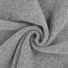 Tissu lainage bouillie gris clair