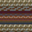 Tissu jacquard africain fuchsia Kinshasa