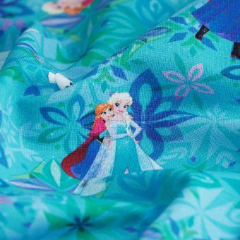 Tissu molleton sweat french terry La Reine des neiges