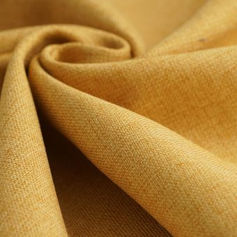 Tissu toile thermique jaune