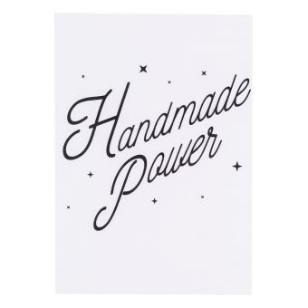 Transfert thermocollant handmade power