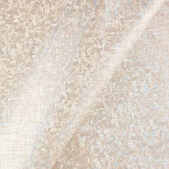 Tissu coton épais holographique argent