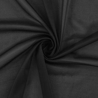 Tissu doublure maille noir