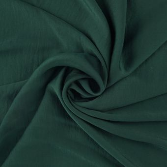Tissu satin polyester recyclé vert