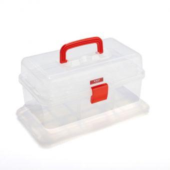 Boîte à couture transparente