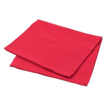 Serviette de table Essentiel rouge