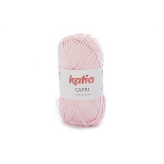Fil à tricoter Katia Capri rose clair