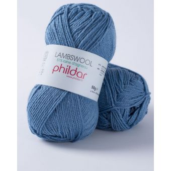 Fil à tricoter Phildar lambswool denim
