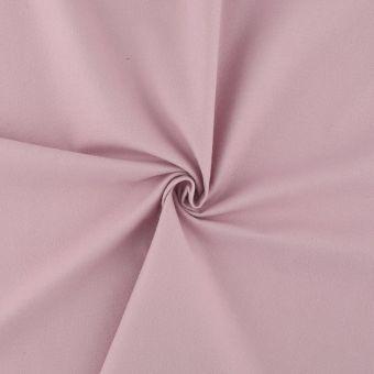 Tissu flanelle bio légère rose