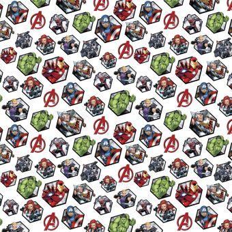 Tissu coton Marvel