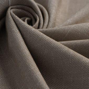Tissu toile Malmo beige polyester recyclé