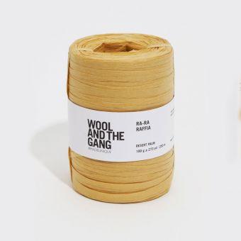 Fil à crocheter Ra Ra Raffia desert palm - Wool and the Gang