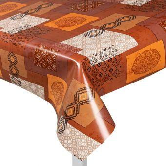 Protège table motif ethnique