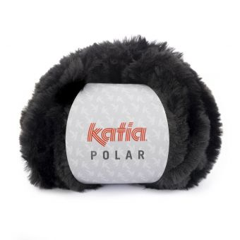 Fil à tricoter Katia Polar noir