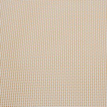 Tissu toile grille pour sièges et bains de soleil coloris blanc