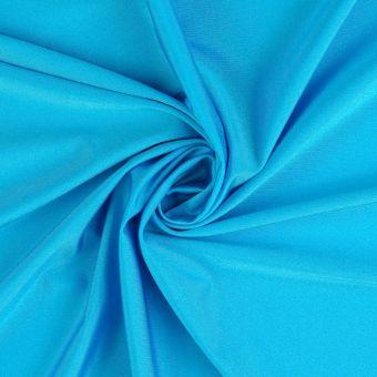 Tissu polyamide uni très extensible turquoise
