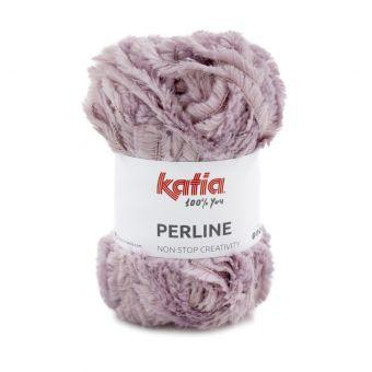Fil à tricoter Katia Perline mauve