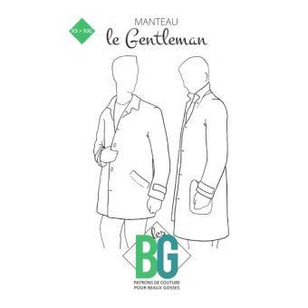 patron manteau homme le gentleman du xs au xxl - LES BG