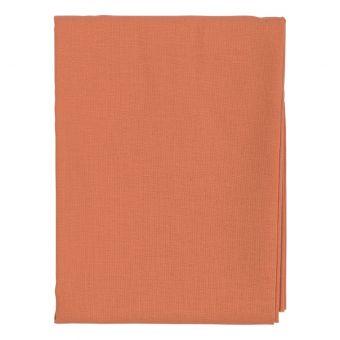 Coupon de tissu uni orange