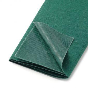 Pièce thermocollante coton vert