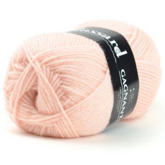 Pelote de fil à tricoter gagnante nude - Plassard