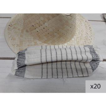 20 masques lavables à découper