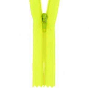 Fermeture nylon non séparable fluo 55cm