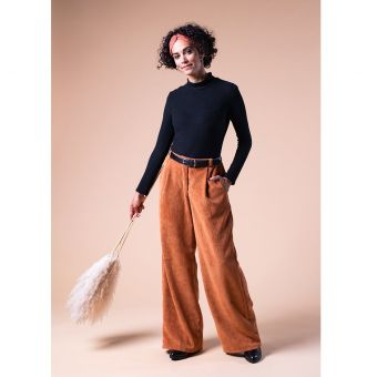 Patron pantalon femme - Burda 6856