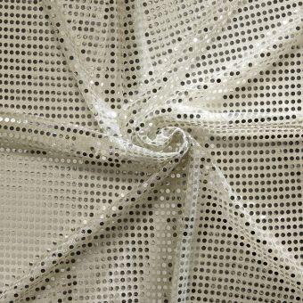Tissu à sequins brillants
