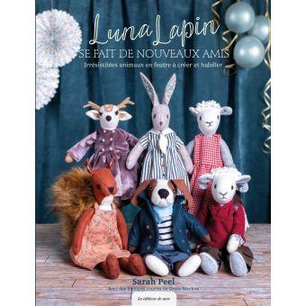 Livre couture - Luna lapin et ses 5 nouveaux amis
