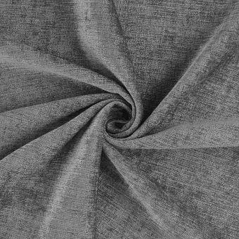 Tissu velours chenille Clooney gris