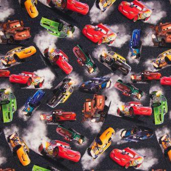 Tissu molleton sweat french terry Cars