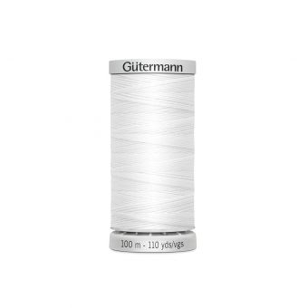 Bobine de fil extra fort Gütermann - Blanc