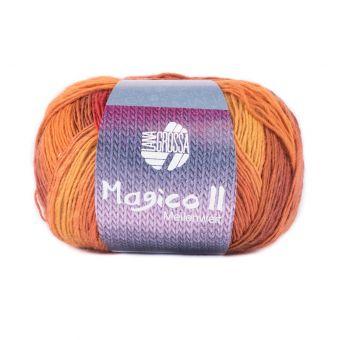 Fil à tricoter à chaussette classique orange