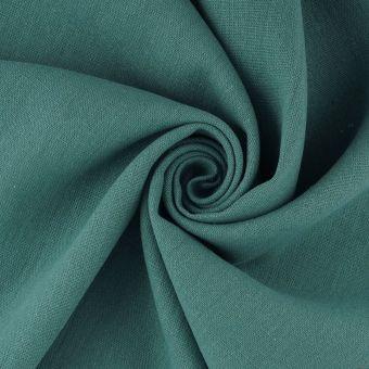 Tissu lin lavé Libeccio grande largeur vert