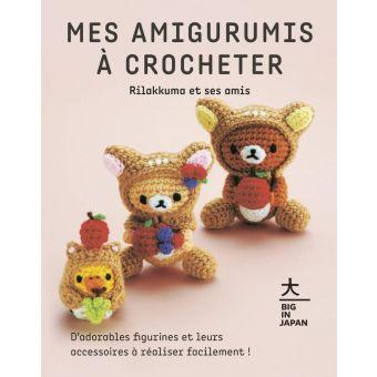 Livre Mes amigurumis à crocheter - Rilakkuma et ses amis