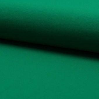 Tissu molleton sweat french terry extensible vert