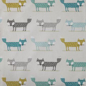 Tissu coton épais imprimé renards