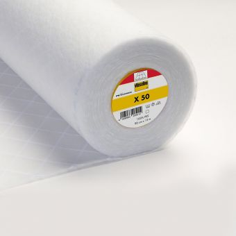 Molleton thermocollant Vlieseline X50 blanc