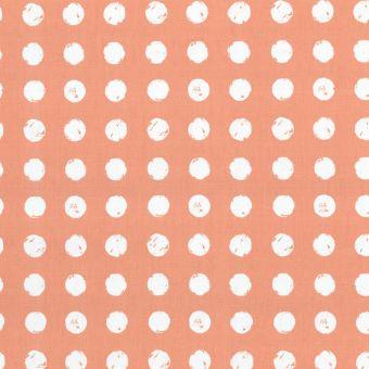 Tissu coton épais imprimé pois