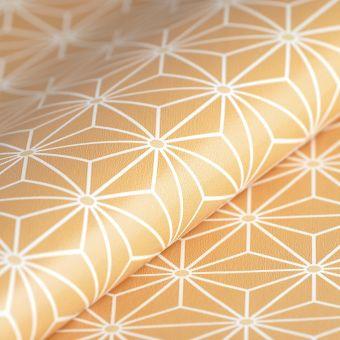 Toile cirée motifs japonais étoile